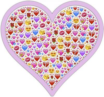 heart of emoji